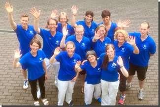 Das Team des Therapiezentrum Griesheim