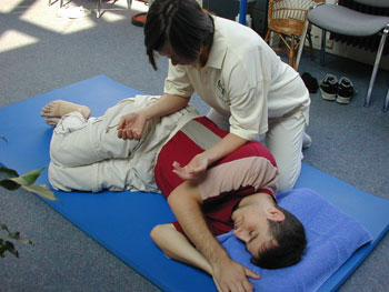 Shiatsu-Massage im Therapiezentrum Griesheim, Frankfurt